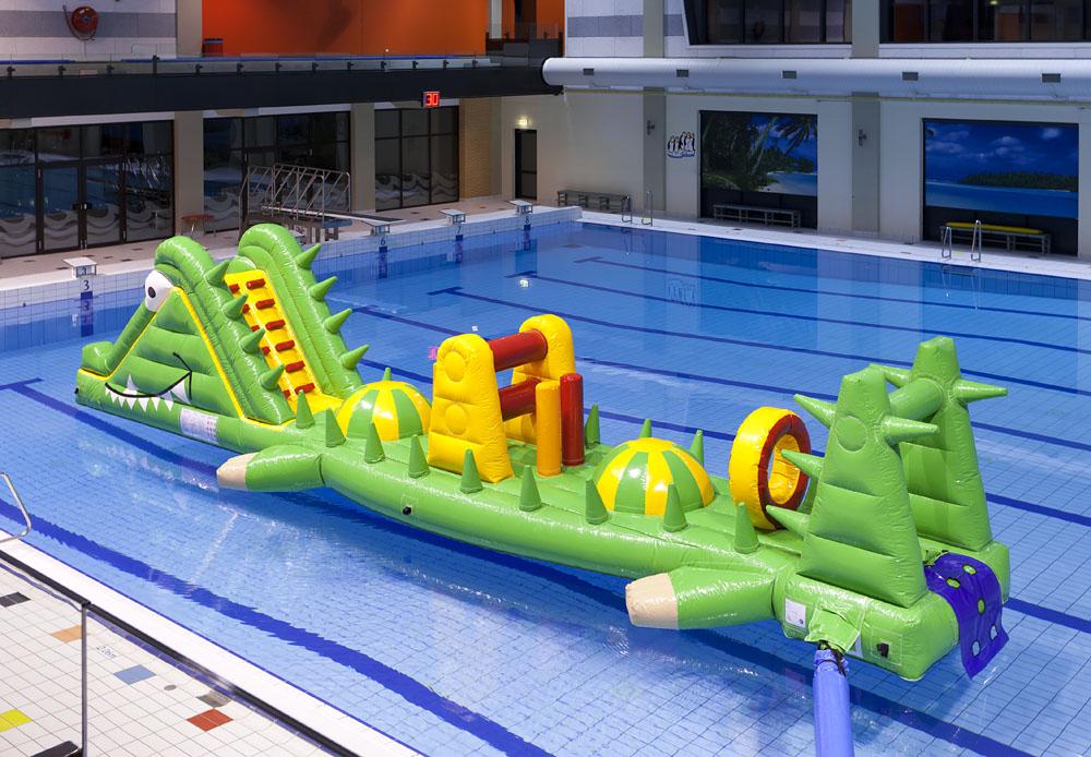 zwembad run krokodil