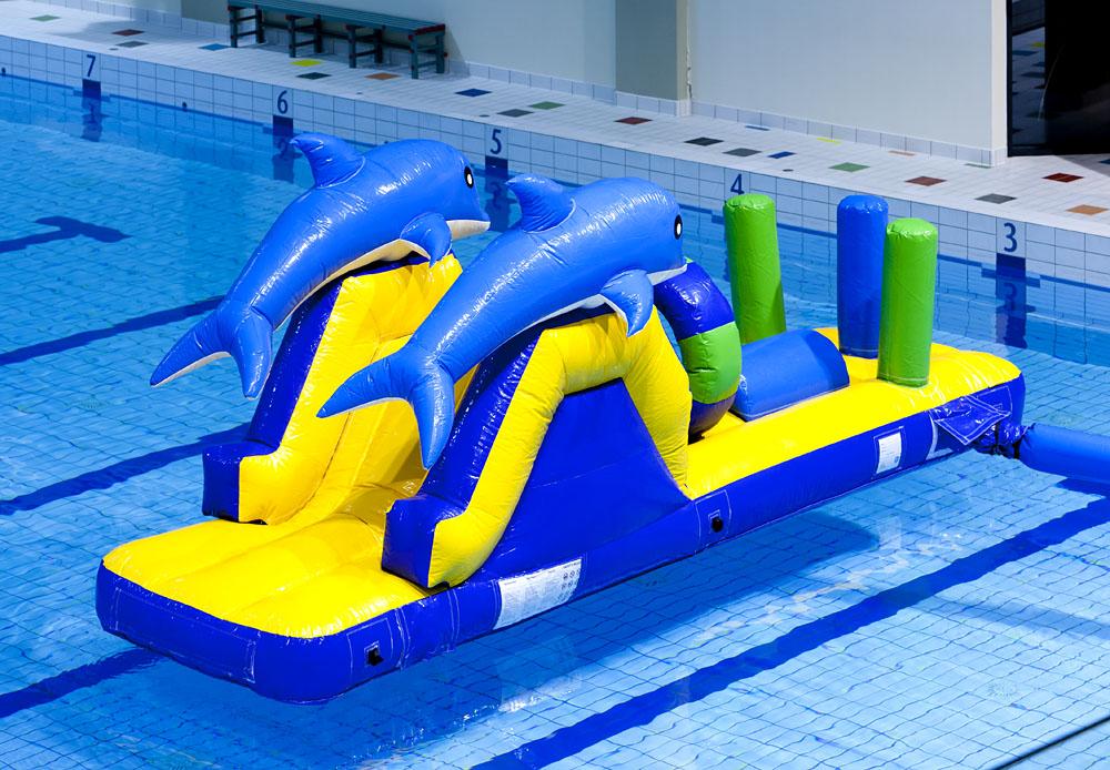 zwembad run dolfijntjes